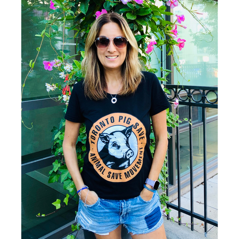Toronto Pig Save Women's T-shirt