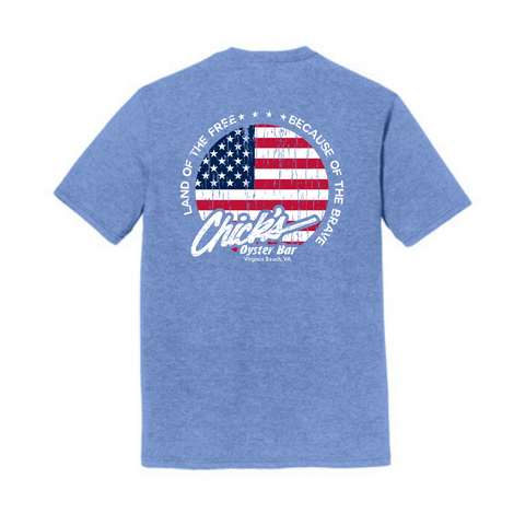 Chick's Land Of The Free T-Shirt