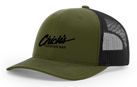 Chick's Logo Snap Back Trucker Hat