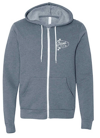Chick's Logo Zippered Hoody
