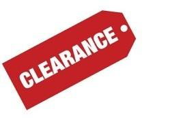 Clearance & Used Items