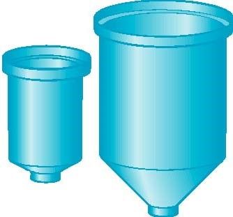 Tall Conical Poly Tank