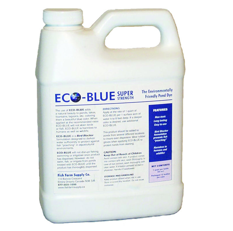 EcoBlue Pond Dye - Discount code: APRIL