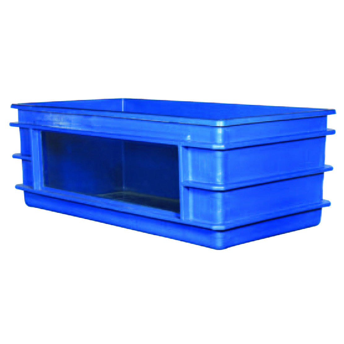 Fiberglass tanks with windows fish farm supply co for Fish pond tanks for sale