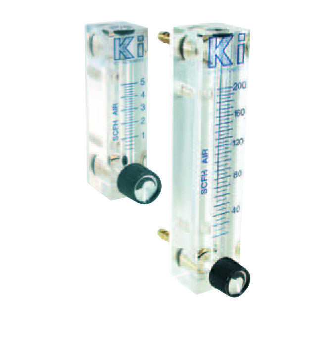 Acrylic Air/Oxygen Flow Meters