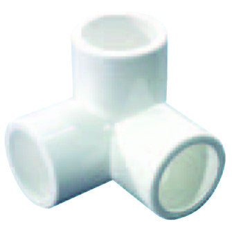 PVC Floating Cage Fitting, 3 Way Elbow - All Slip