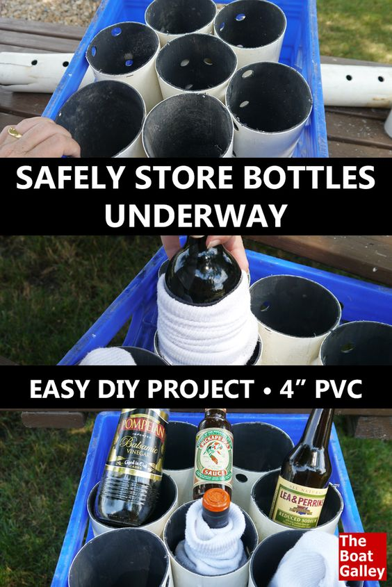 PONTOON GIRL® PARTY FAVORITES: Wine Bottle Storage