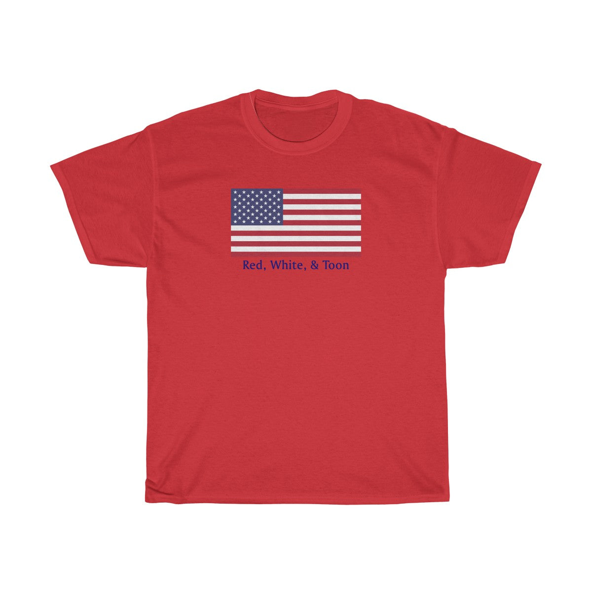 Classic Flag - Red White and Toon - NOTHING ON BACK