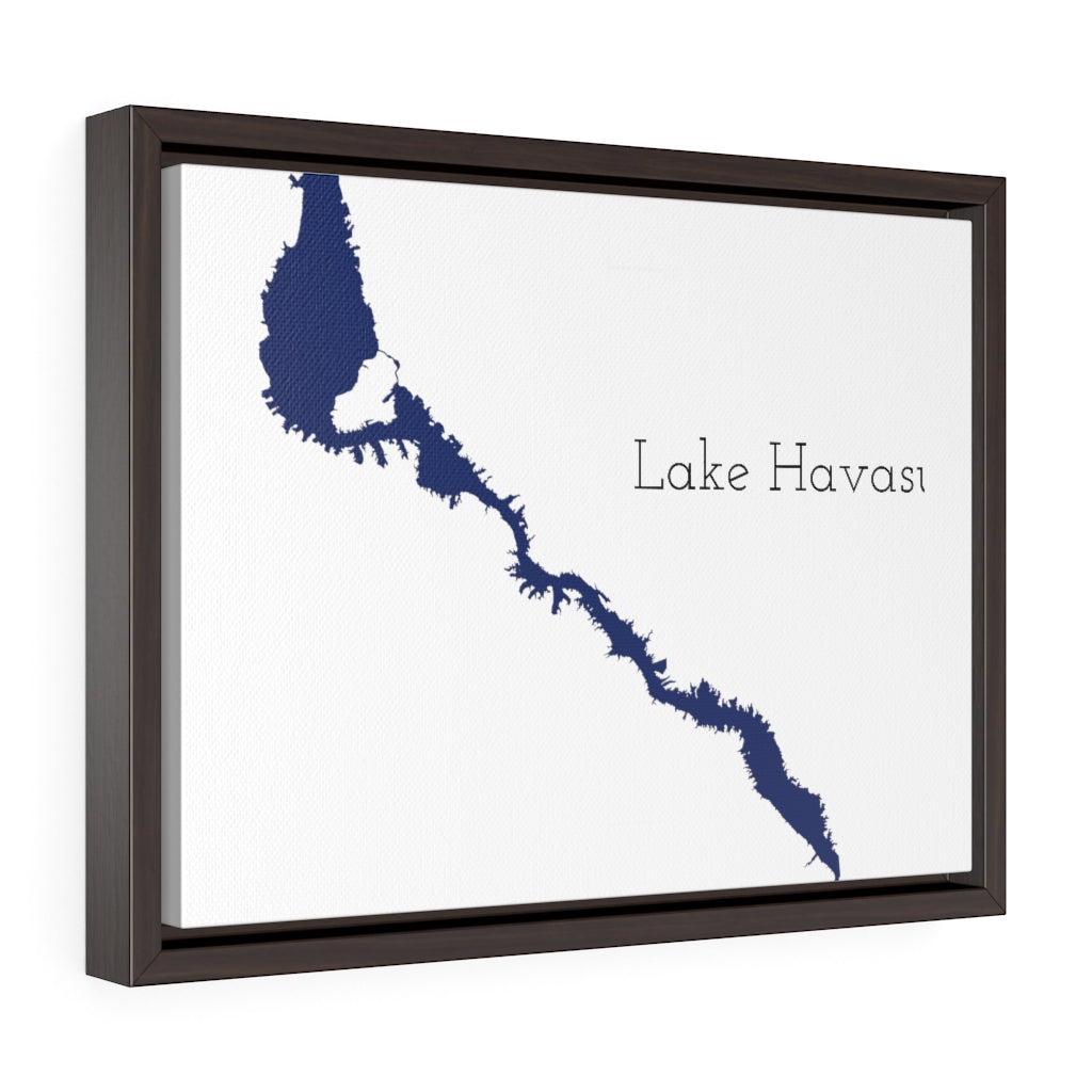 Lake Havasu - Party Lakes Collection - Horizontal Framed Premium Gallery Wrap Canvas