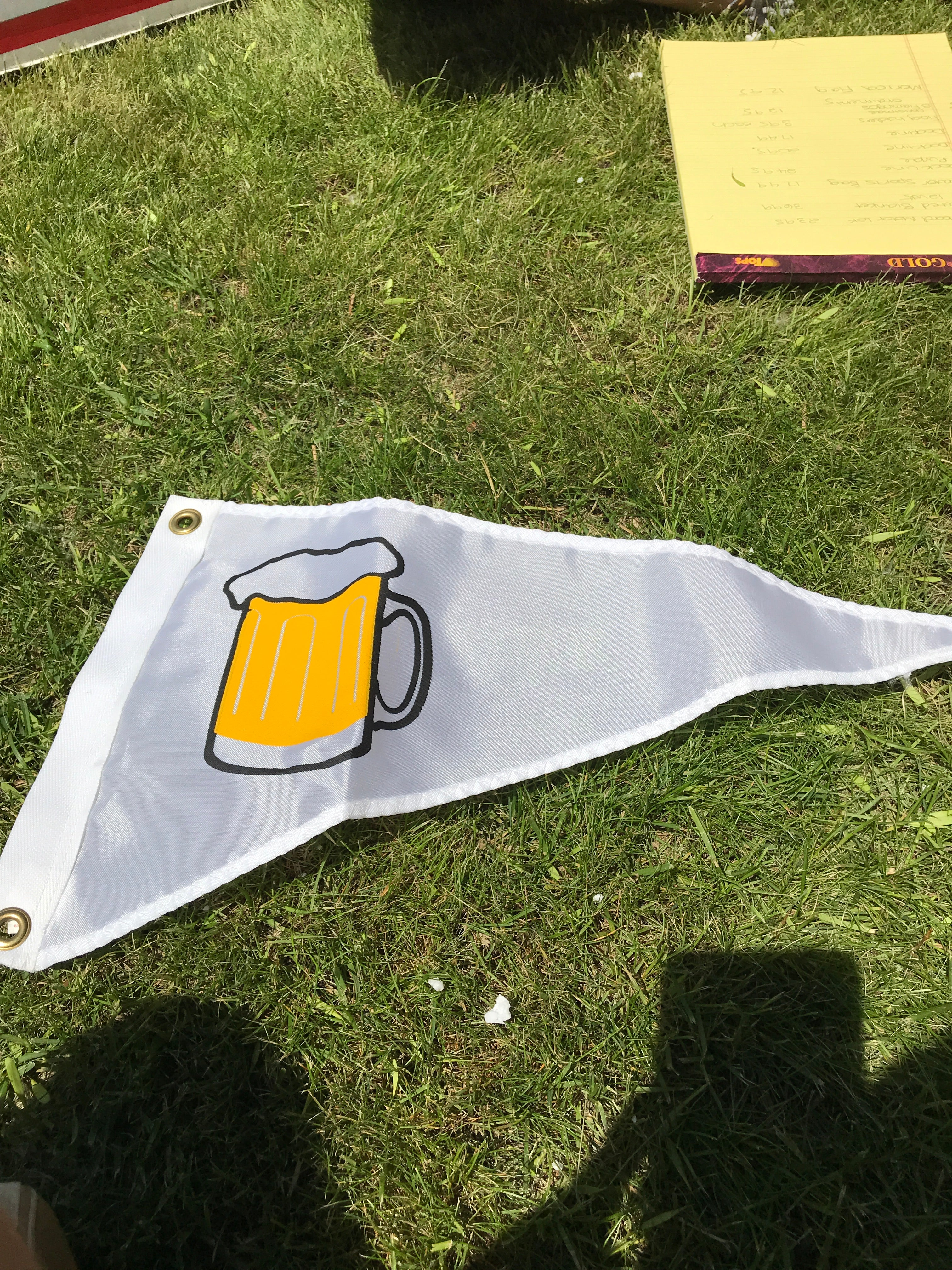 Triangle Beer Flag