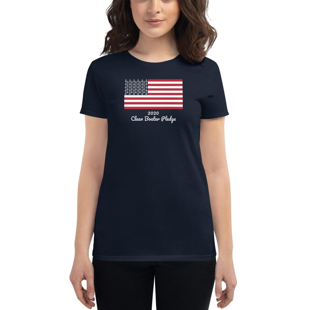 I TOOK THE PLEDGE - Clean Boater T Shirt