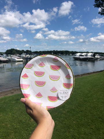 Watermelon Party Plates - GS8