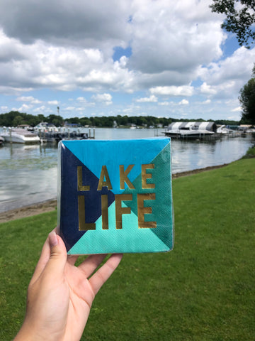 Lake Life Napkin Set - GS8