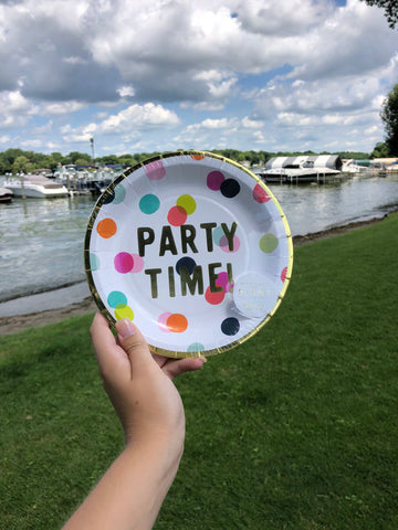 Party Time Plates - GS8
