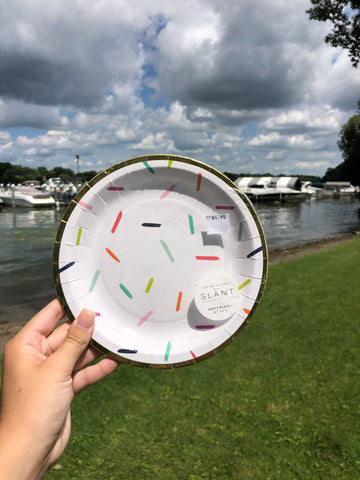 Confetti Party Plates - GS8