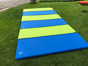 Aqua Water Mats - folding water pad that zips and folds into small space - easy to carry!