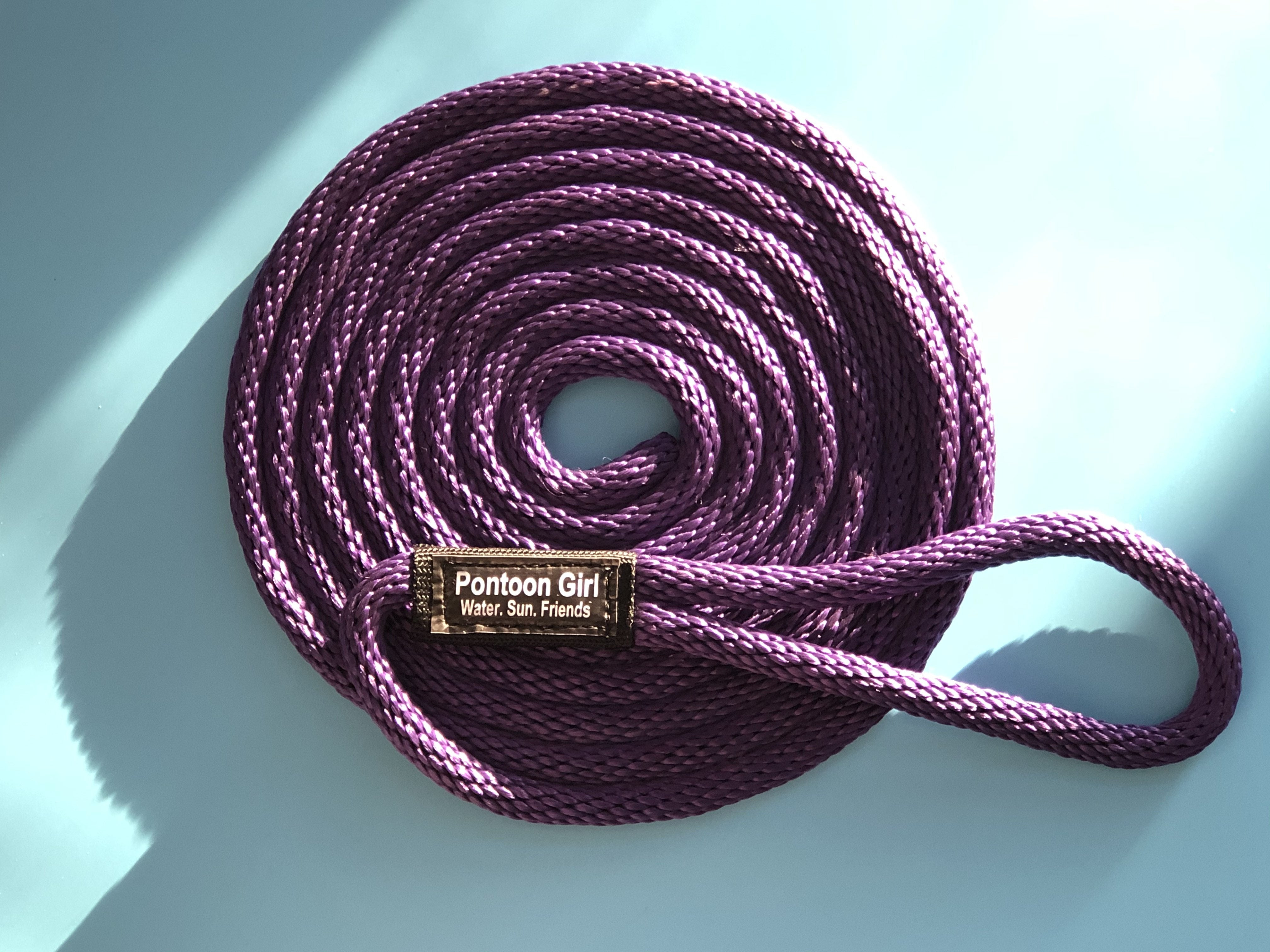 Personalized Boating Rope - Boat Tie Line - Mooring and Docking Line