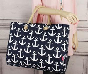Large Anchor Boat Tote