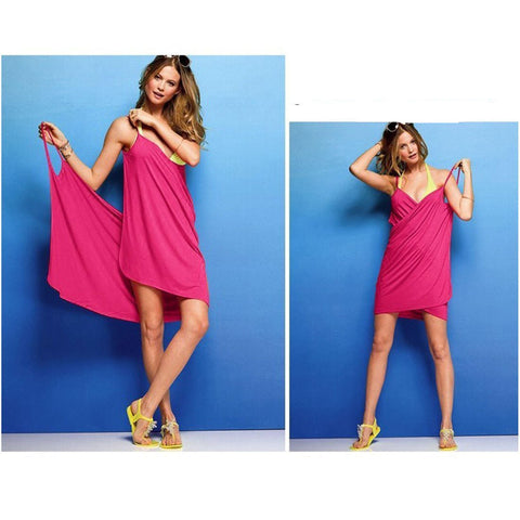 Pink - cover up, beach dress, cute!
