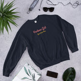 Pontoon Girl - Customizable Unisex Sweatshirt - Add Your Favorite Boating Spot to this Sweatshirt