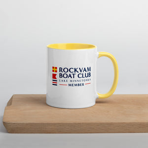 Rockvam Boat Yards - Boat Club  Mug with Color Inside