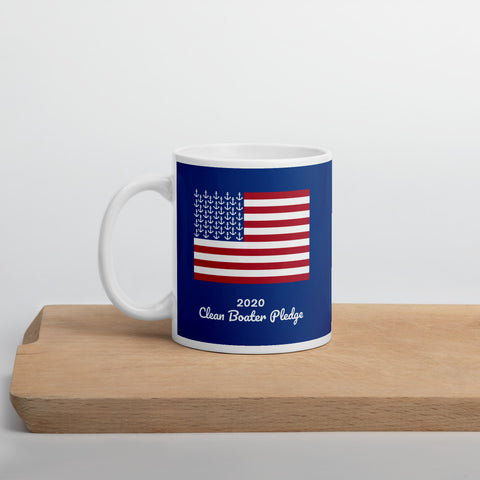 2020 Clean Boater Pledge by Pontoon Girl ® - Mug
