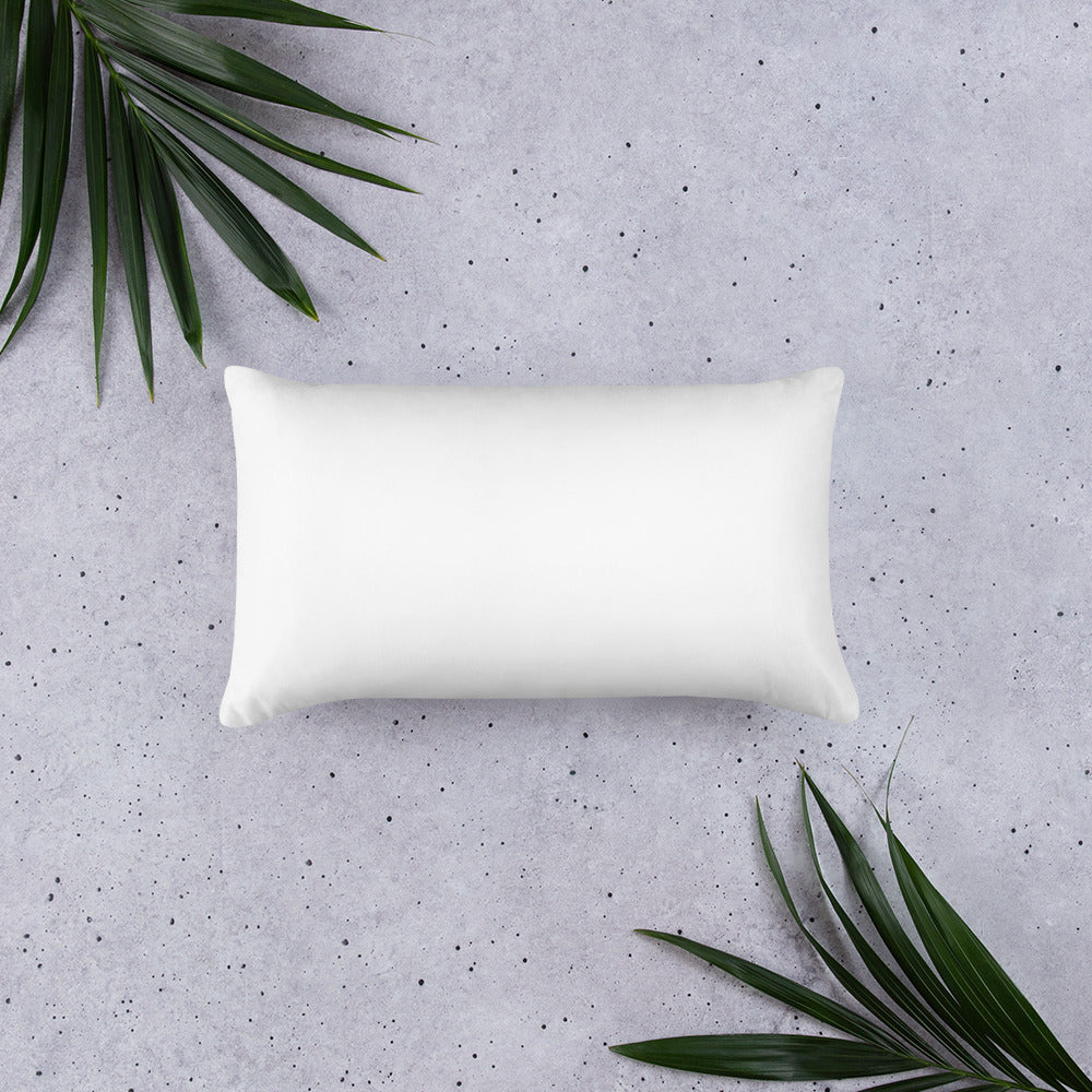 Believe Basic Pillow - The Calming Seas by Pontoon Girl®