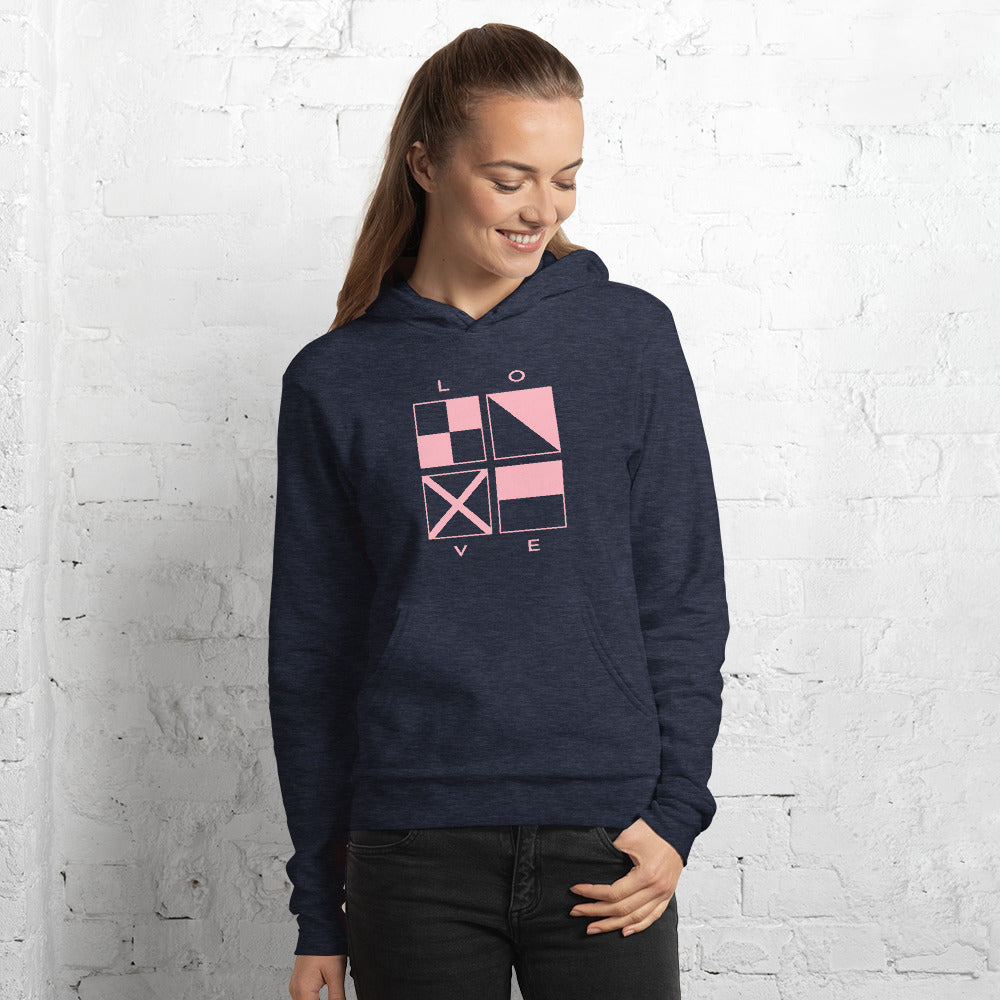 LOVE Sweatshirt - Unisex hoodie - Great Gift for Women in Boating