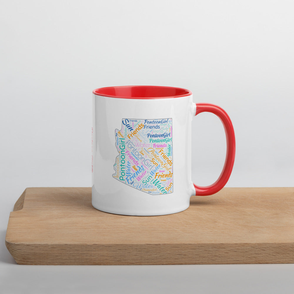 Pontoon Girl® - Arizona Mug with Color Inside