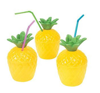 Pineapple Drink Cups