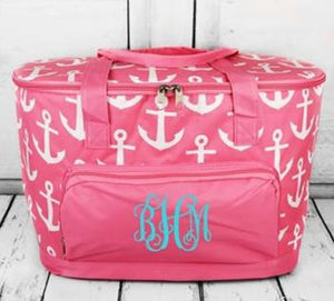 Pink Anchor Cooler