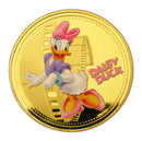 Mickey Mouse & His Friends - Cartoon Colored 24K Gold Plated Color Commemorative Coins