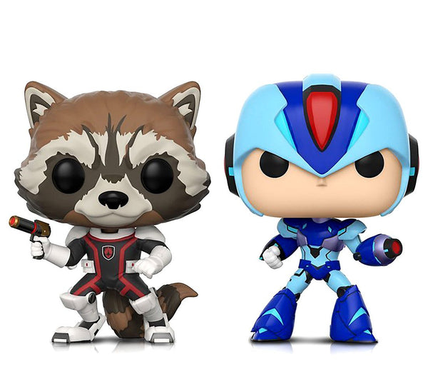 Funko POP! Marvel Vs Capcom - Rocket vs Mega Man X