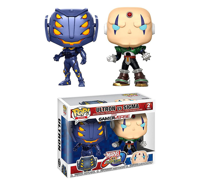 Funko POP! Marvel VS Capcom - Ultron vs Sigma
