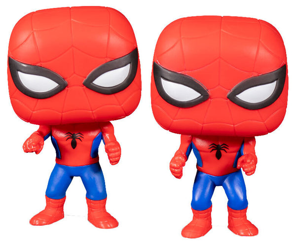 Funko POP - Marvel 2 Pack Spider-Man Vs. Spider-Man
