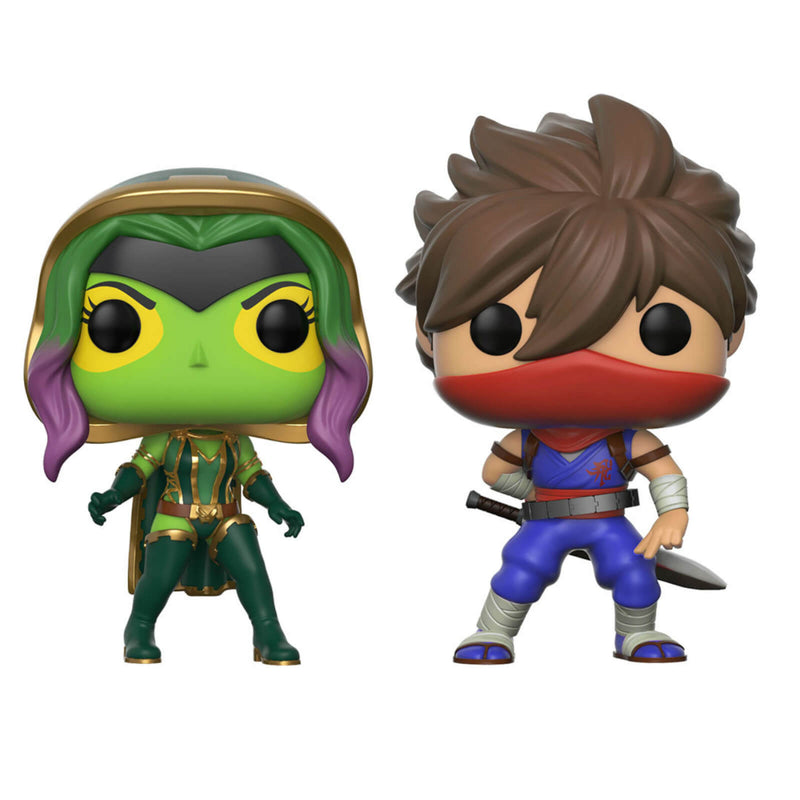 Funko POP! Marvel Vs Capcom - Gamora Vs Strider
