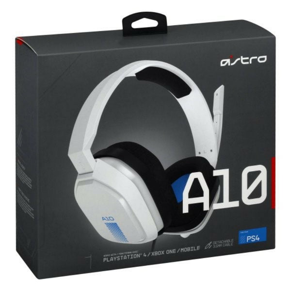 ASTRO Gaming A10 Gaming Headset - White