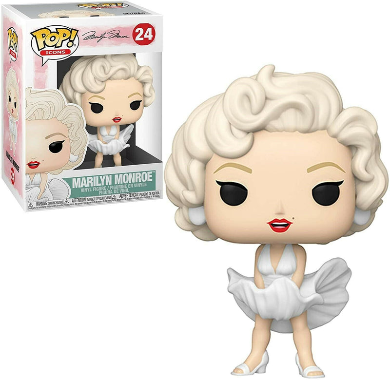 Funko POP - Icons: Marilyn Monroe (White Dress)