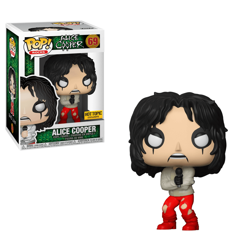 Funko Pop! Rocks Alice Cooper with Straitjacket Exclusive