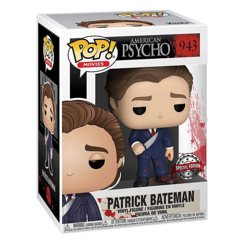 Funko POP: AMERICAN PSYCHO- PATRICK BATEMAN IN SUIT W/ KNIFE (Special Edition)