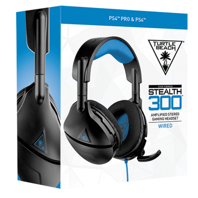 Turtle Beach - Ear Force Stealth 300 Amplified - Wired Gaming Headset - PS4
