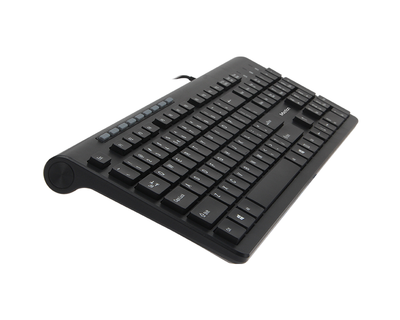 Wired Standard Multimedia Ultrathin Keyboard K842M EN/AR