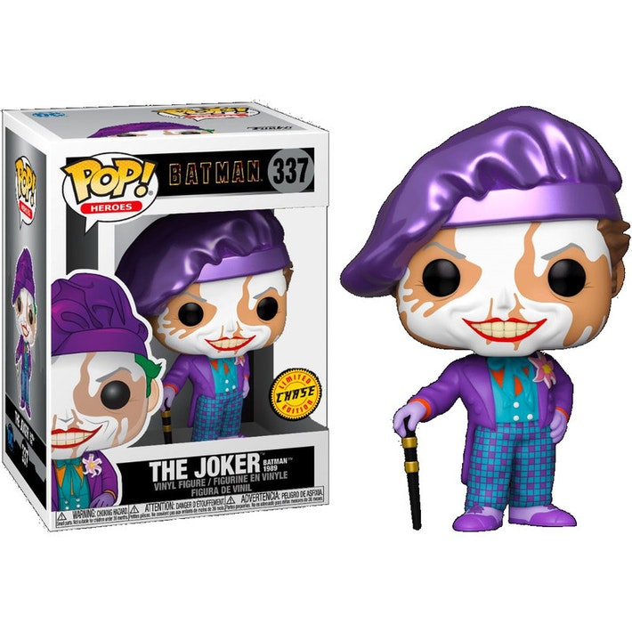 Funko POP - Heroes Batman: Joker 1989 Limited Edition Chase