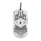 Glorious Gaming Mouse Model O (Matte White)