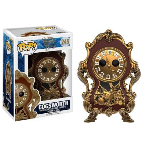 Funko POP! Disney Beauty and the Beast - Cogsworth