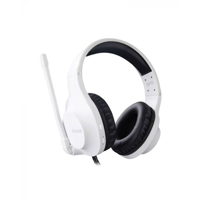 SADES: Spirit SA-721 - Gaming Headset (White)