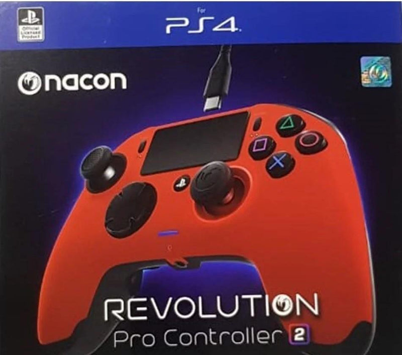 Nacon PS4 Revolution Pro Controller 2 - Red