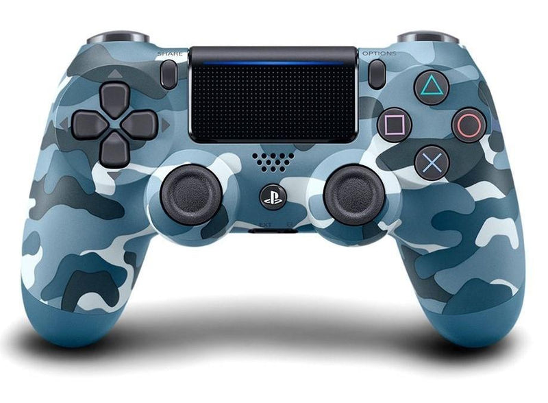 PS4 DualShock 4 Wireless Controller - Blue Camouflage