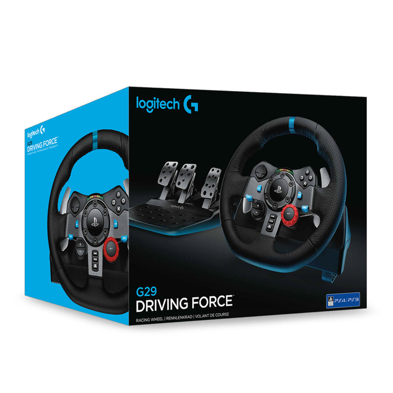 Logitech G29 Driving Force Racing Wheel for PS4 & PC