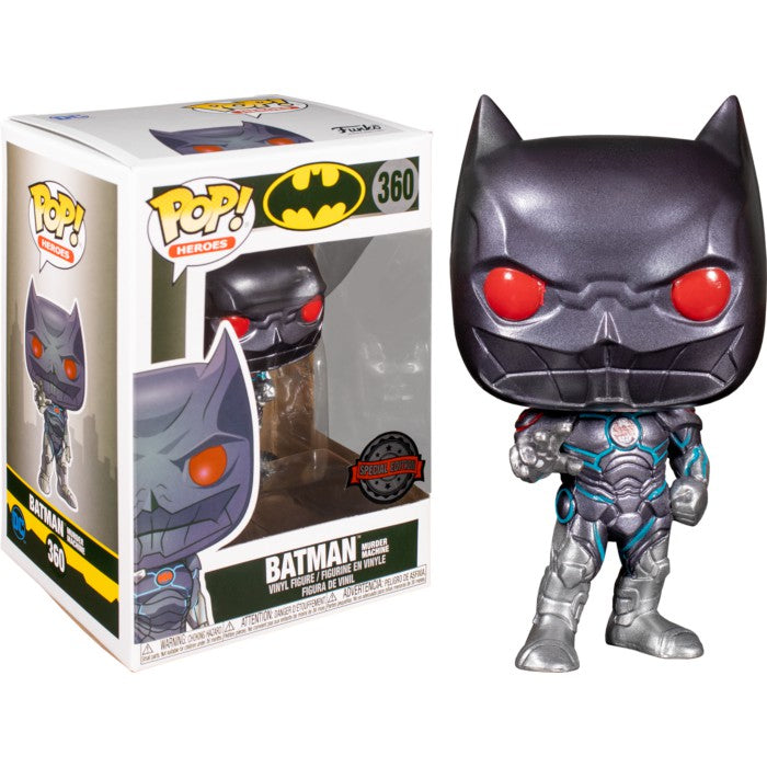 Funko POP - Heroes DC Comics: BATMAN - Murder Machine (Special Edition)